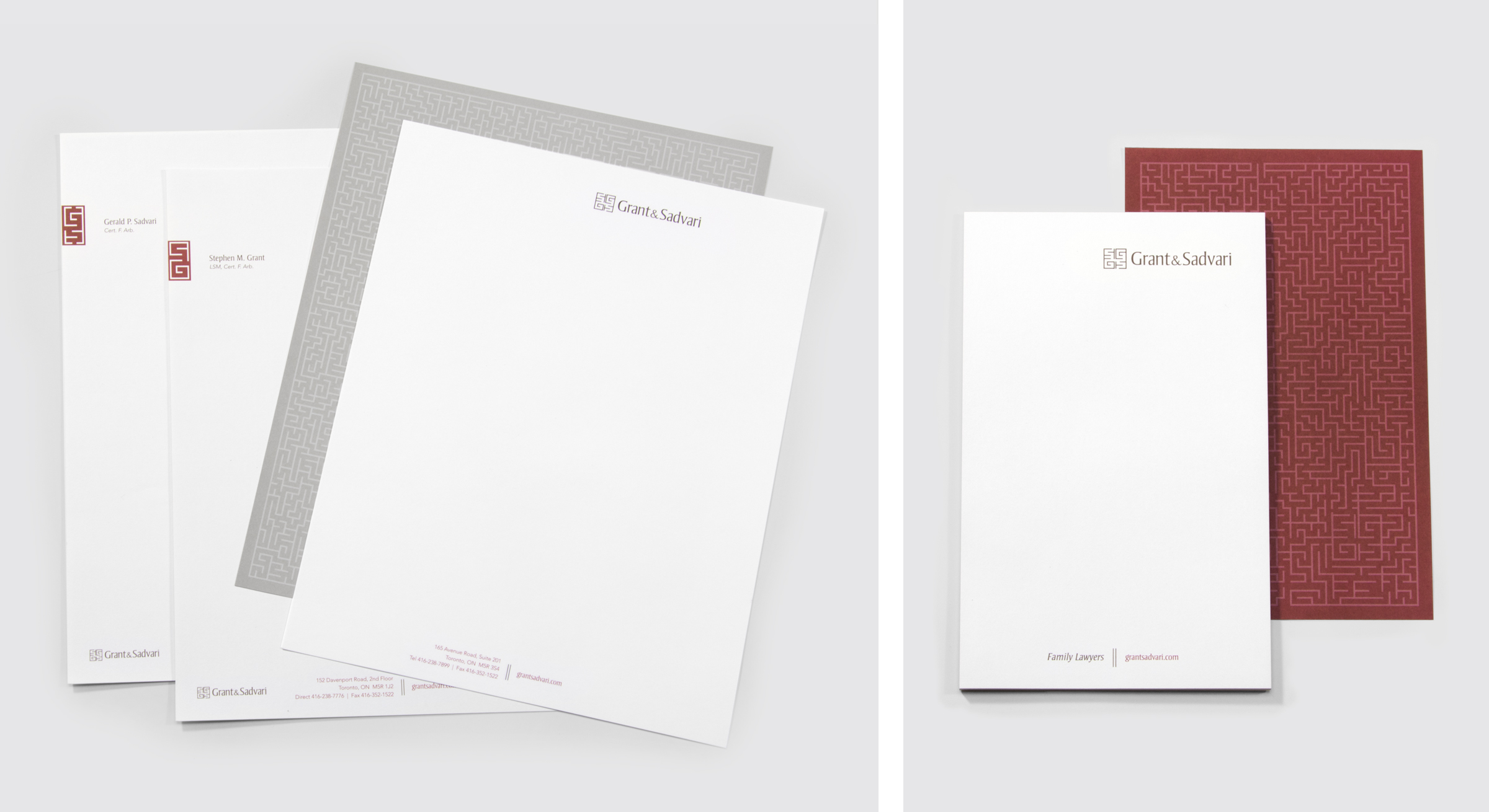 Letterhead and Notepad